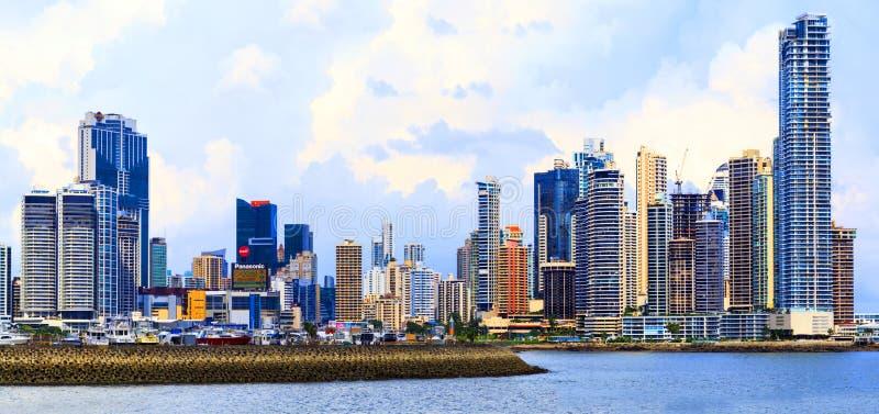 Nuovo Panamá fotografia stock