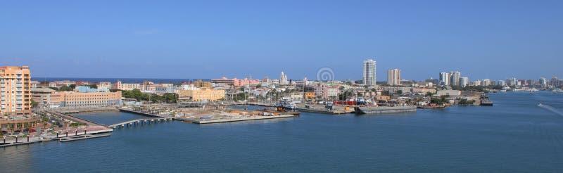 Nuovo San Juan, Porto Rico fotografia stock