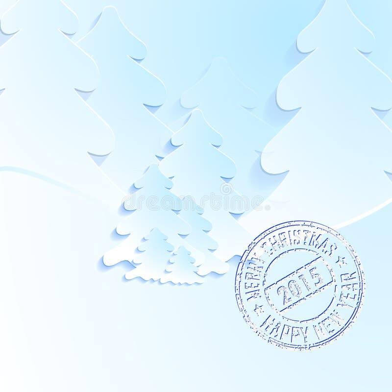 nuovo year2015 04 royalty illustrazione gratis