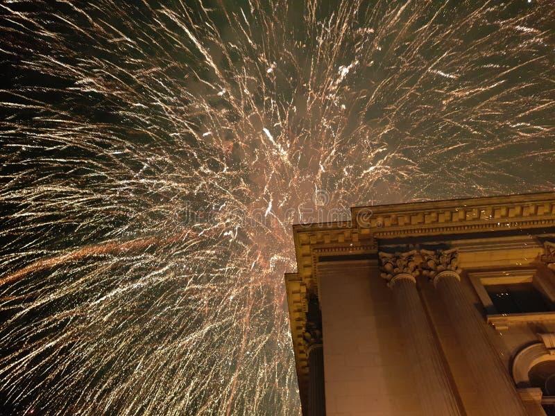 Nuovo year& x27; vigilia di s fotografia stock libera da diritti