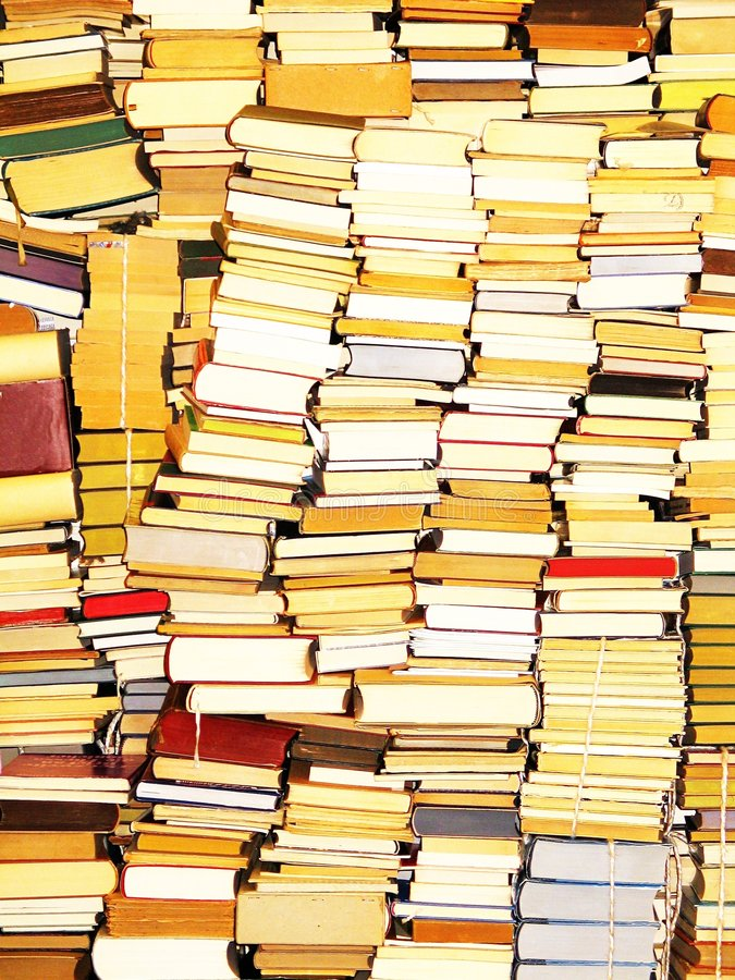 Nur Bücher stockfotos