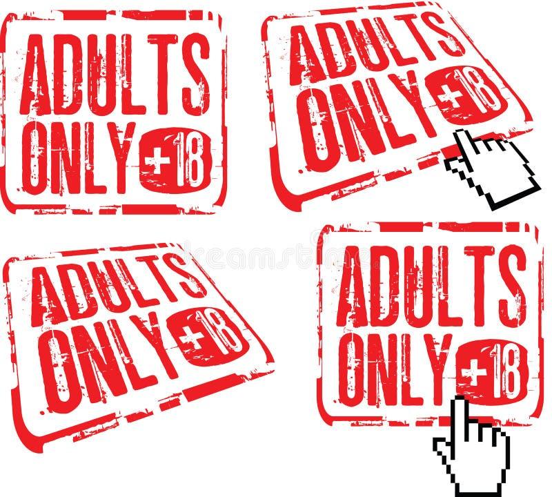 nur erwachsene Erwachsene