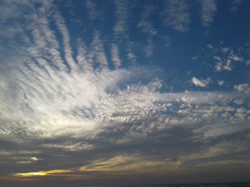 Nur Himmel stockfotos