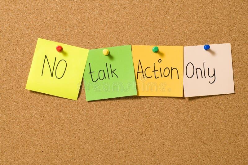 Nur keine Gesprächs-Tätigkeit lizenzfreies stockbild