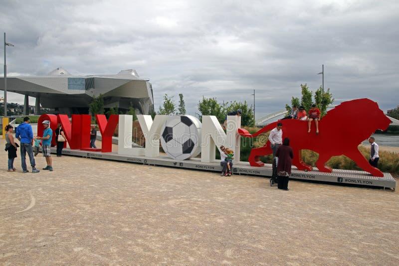 Nur Lyon stockfotografie