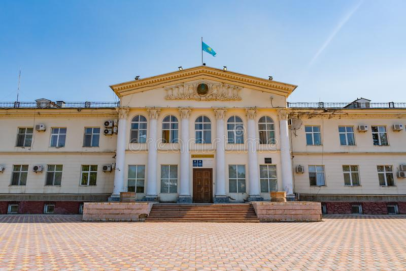 Nur-Sultan Law Enforcement 78 royalty free stock images
