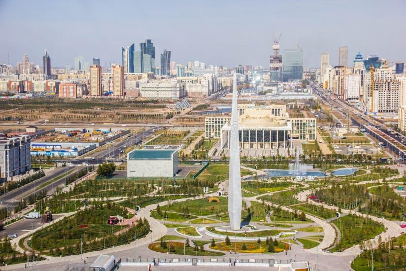 Nur-Sultan fotografia stock libera da diritti