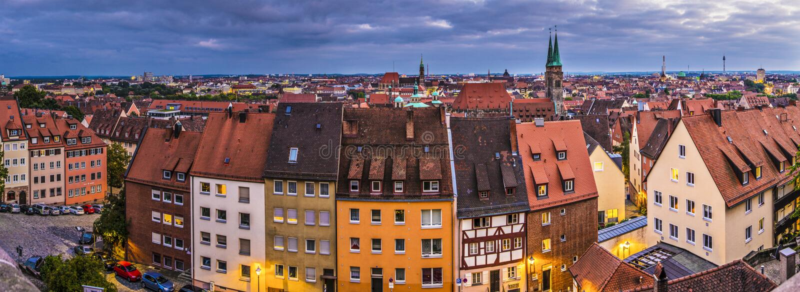 Nuremberg obrazy stock