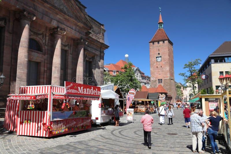 Nuremberg, Allemagne photo libre de droits