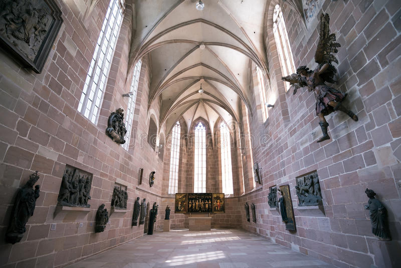Nuremberg, Allemagne - 5 juin 2016 : La collection de s médiéval images stock