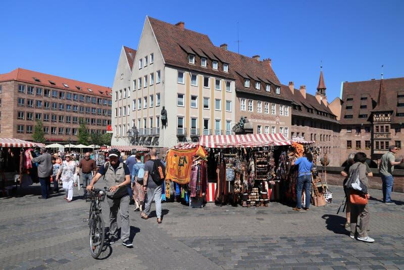 Nuremberg, Allemagne photographie stock libre de droits
