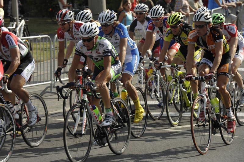 Nuremberg, Bike Race Around The Historical City Editorial Stock Photo