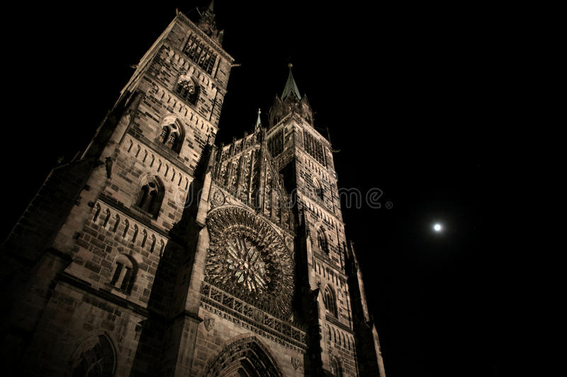 Nuremberg Cathedral Royalty Free Stock Images