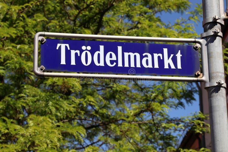 Trodelmarkt, Nuremberg royalty free stock photography