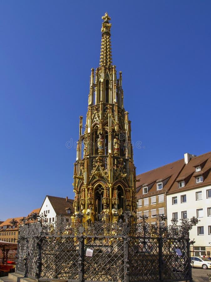 Nuremberg, Franconia, Alemania fotos de archivo