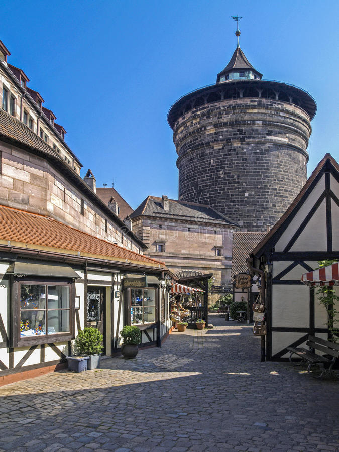 Nuremberg, Franconia, Allemagne photographie stock