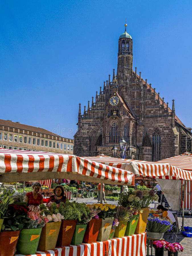 Nuremberg, Franconia, Allemagne photos stock