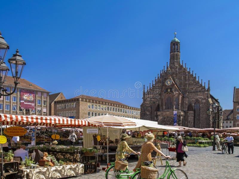 Nuremberg, Franconia, Allemagne photo stock