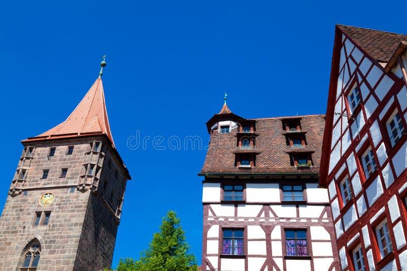 Nuremberg Landmarks Royalty Free Stock Photography