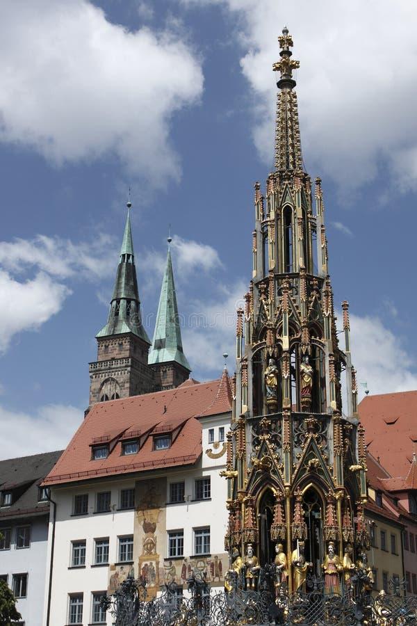 Free Nuremberg Marketplace Royalty Free Stock Photography - 14450647