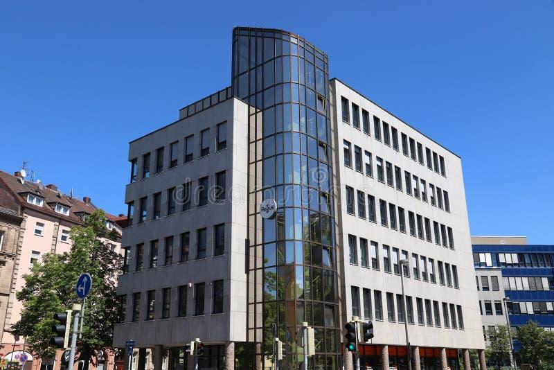 Nuremberg office building stock photos