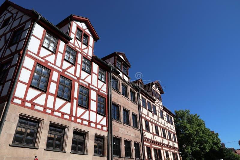Nuremberg stad royaltyfri bild