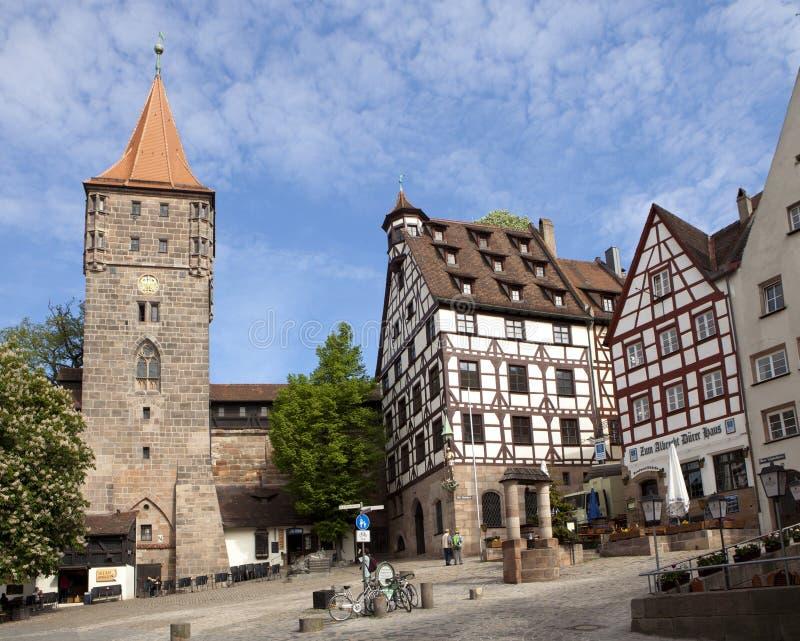 Download Nuremberg, Tiergartnertor editorial stock photo. Image of tiergartnertor - 24759638