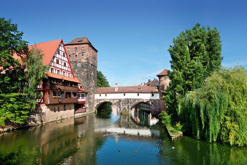 Nuremberg velho foto de stock royalty free