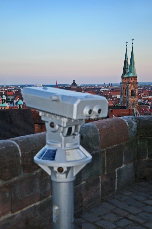 Nuremberg widok punkt fotografia stock