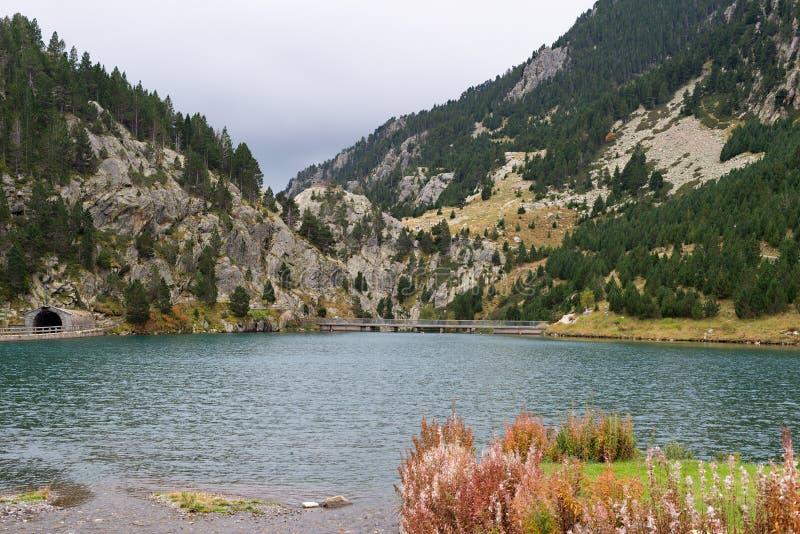 Nuria Valley - España foto de archivo libre de regalías