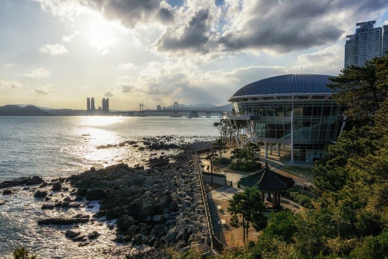 Nurimaru APEC-hus Busan royaltyfria bilder