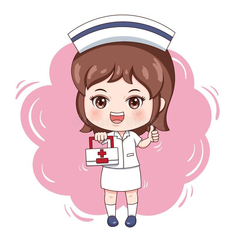 Nurse_4 иллюстрация штока