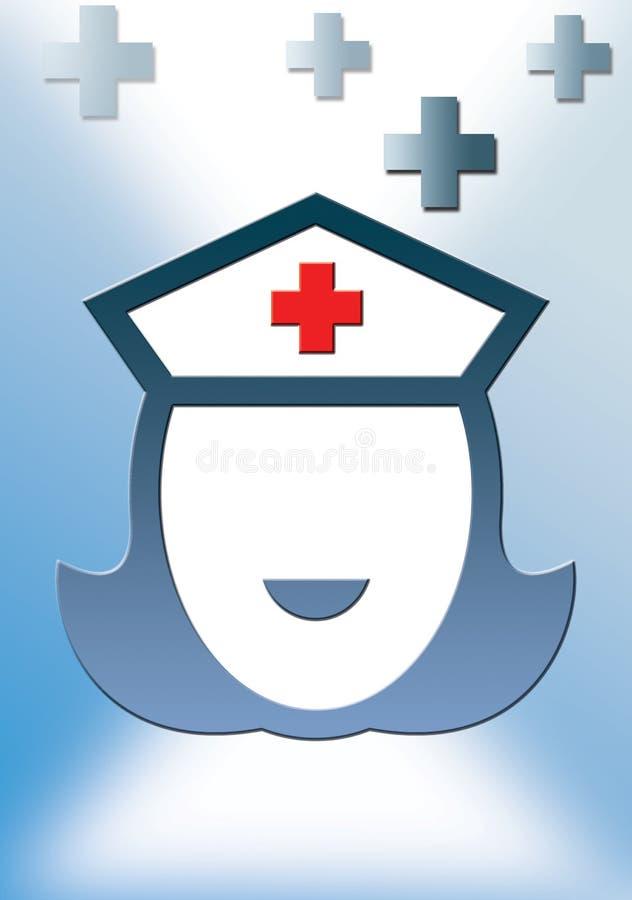 nurse royalty free illustration