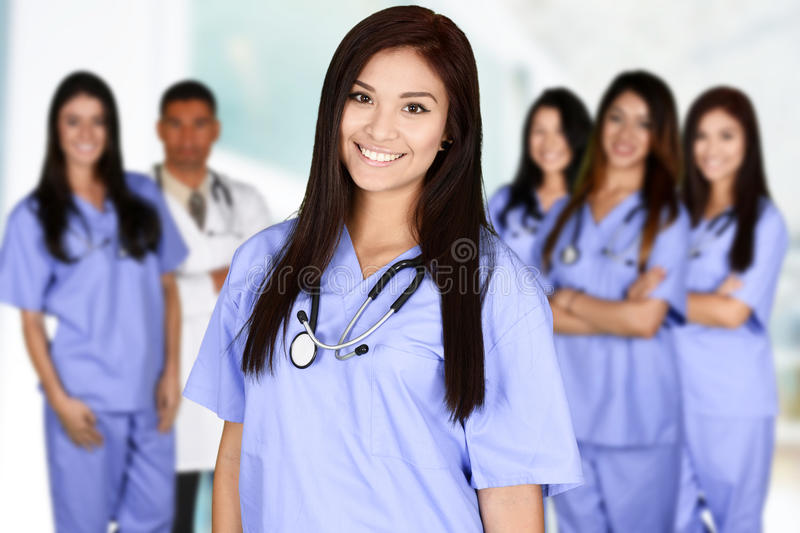 Nurse In Hospital royalty free stock image