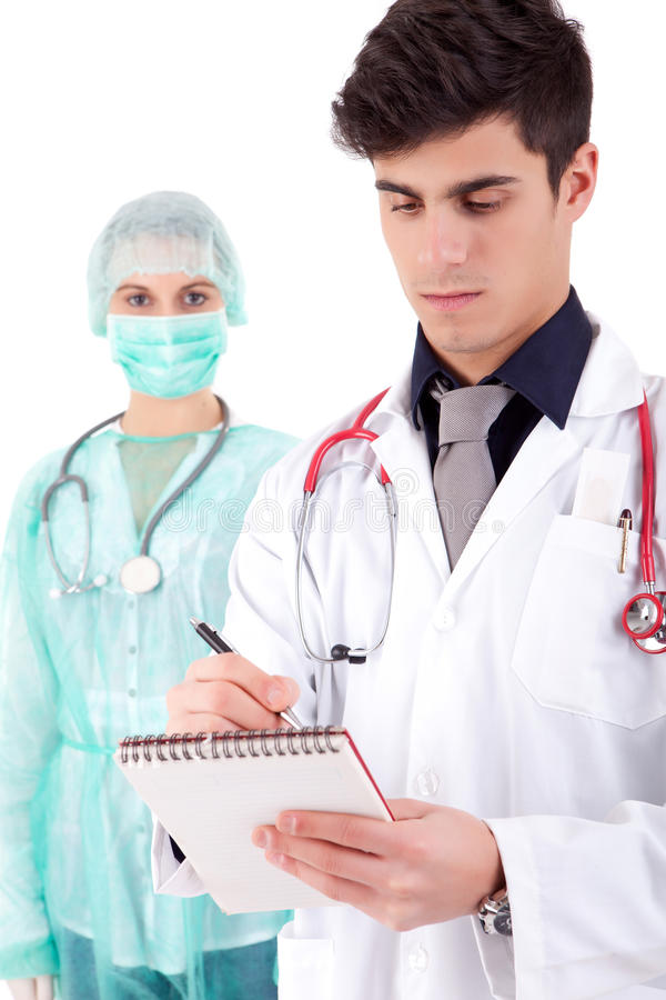 Download Nurse and medic stock photo. Image of medic, girl, physicals - 23592144