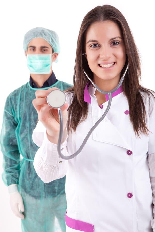 Download Nurse and medic stock photo. Image of medicine, mask - 24318808