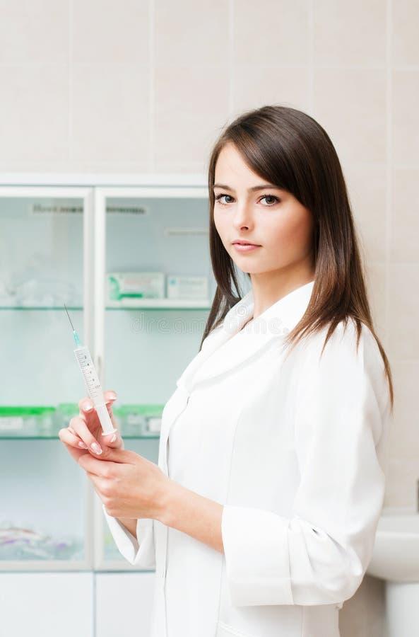 Download Nurse with syringe stock image. Image of care, lifestyle - 22269853
