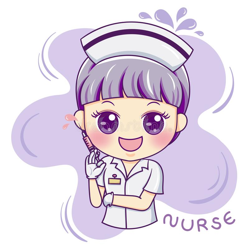 Nurse__vector_2 διανυσματική απεικόνιση