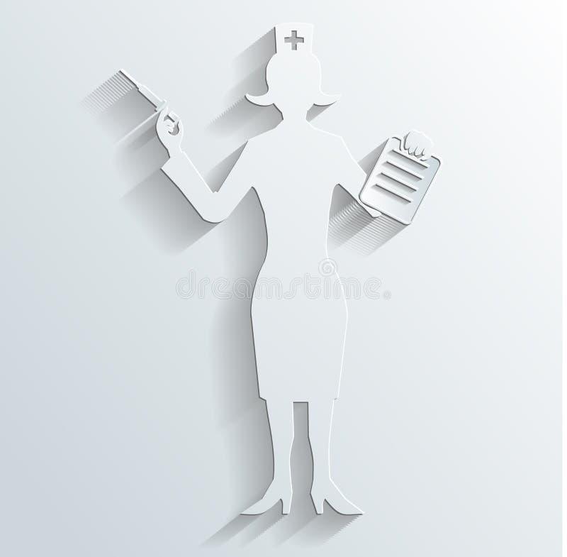 Download Nurse Vector Royalty Free Stock Photos - Image: 33022588