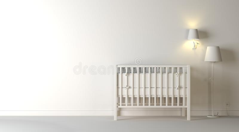 Nursery composition royalty free stock images