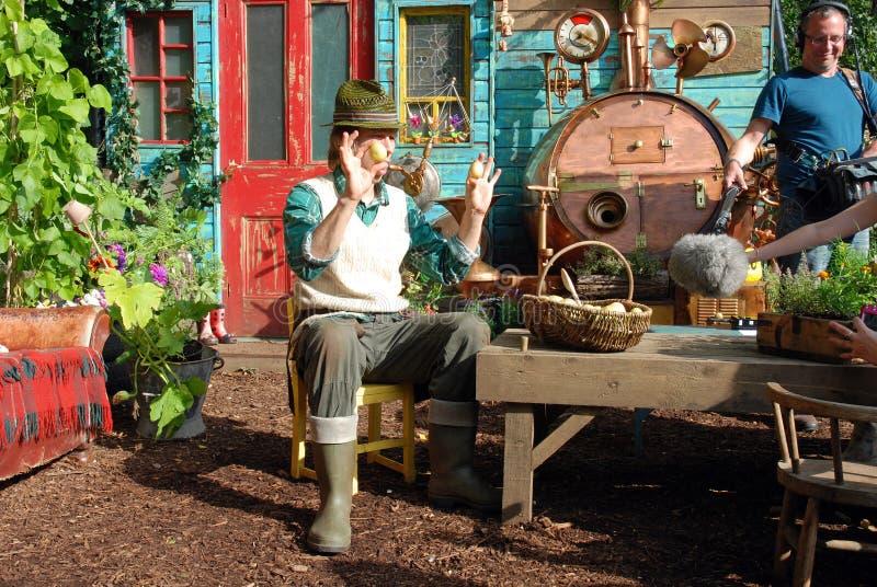 Nursery di sig. Bloom fotografia stock