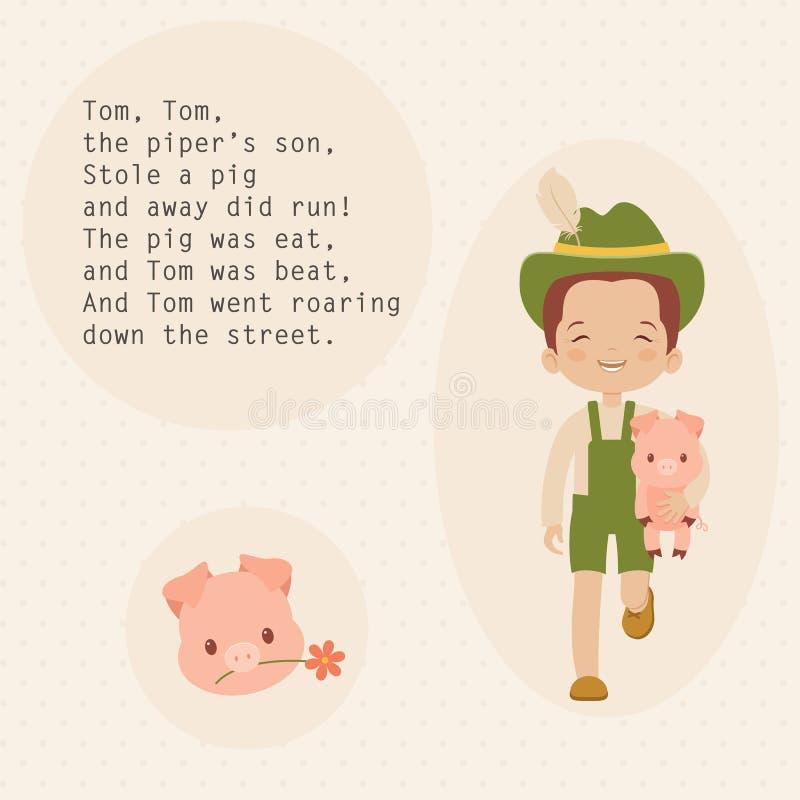 Nursery rhymes vector illustration vector illustration