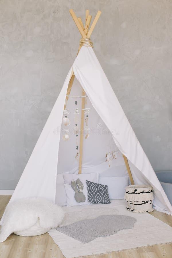 Stacking Boho Scandi Teepee Wigwam Shelf Decor for Nursery Decoration