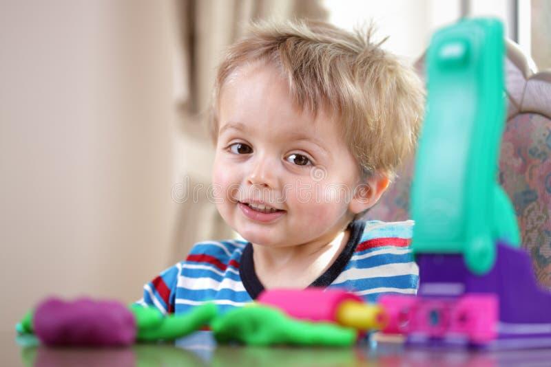 Nursery School Play Stock Image