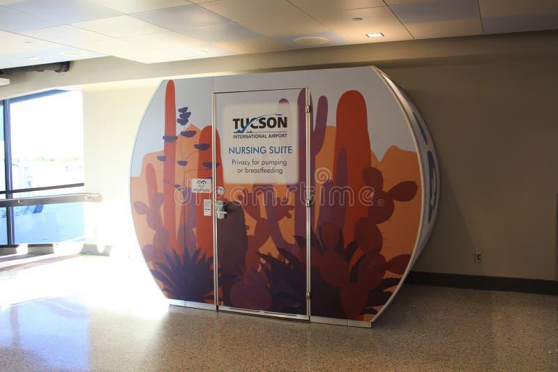 Nursing or Breastfeeding Suite, Tucson International Airport stock photography