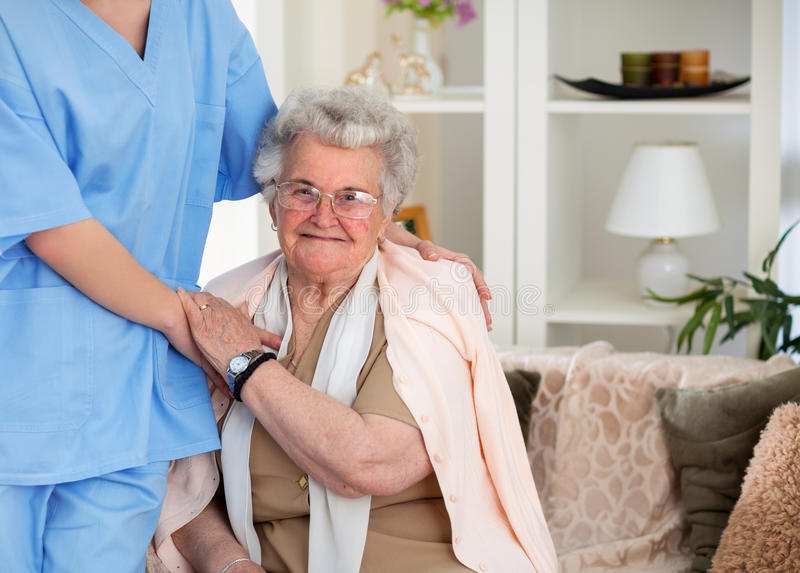 Nursing care royalty free stock images