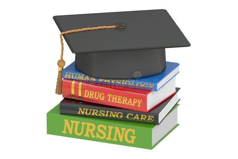 Nursing education concept, 3D rendering stock illustration