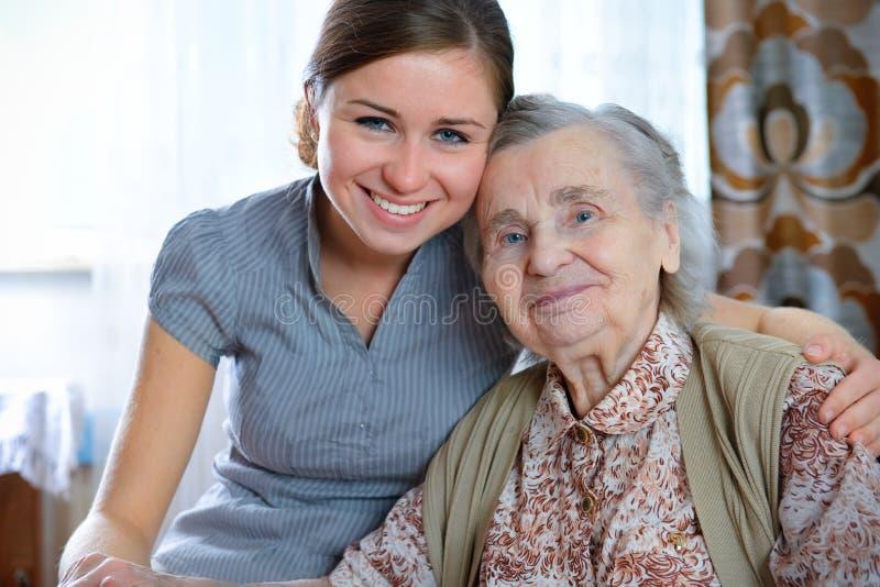 Download Nursing home stock photo. Image of medicine, adult, help - 16251932
