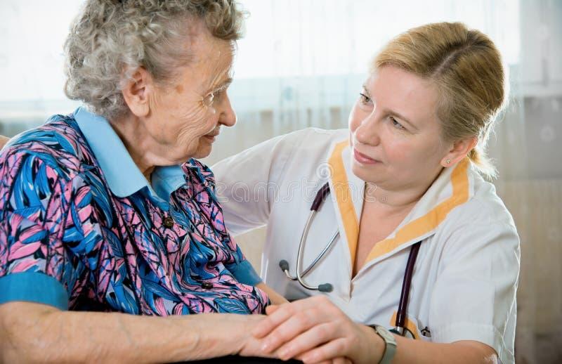 Download Nursing home stock image. Image of adult, caregiver, home - 20405581