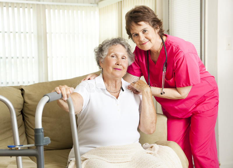 Nursing Home Care royalty free stock photography